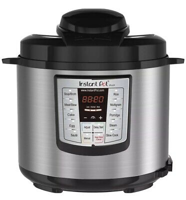 $80 • Buy Instant Pot Cooker 6 Quart Programmable Rice Slow Saute Steamer Warmer Multi Use