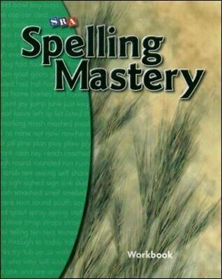 AU23.41 • Buy Spelling Mastery - Student Workbook - Level B, Sra/Mcgraw-Hill 9780076044825..