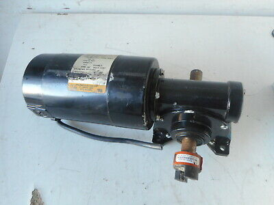 $103.69 • Buy Baldor Dc Motor + Right Angle Gearbox Gp7405 -- 90vdc 1/4hp