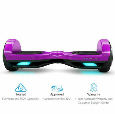 AU436.55 • Buy NEW 6.5  Segway Electric Scooter Hoverboard Purple | SAA Approved | FREE Sipping