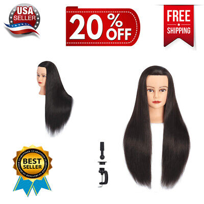 $28.89 • Buy Cosmetology Mannequin Head Afro American Hair Styling Hairdresser Training 28