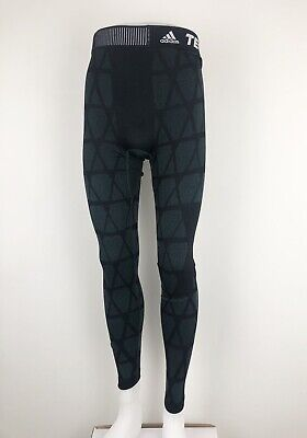 £29.90 • Buy Adidas Techfit Climawarm Full Length Tights Size Small