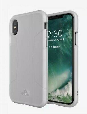 AU9.90 • Buy Adidas Agravic Apple IPhone X XS Dual Layer Protective Case White New