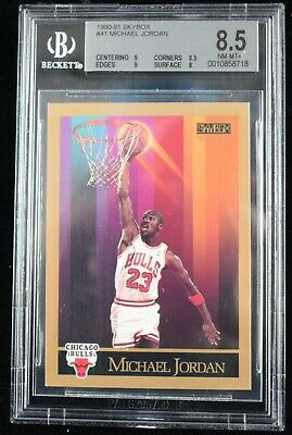 $34.99 • Buy 1990-91 Skybox #41 Michael Jordan BGS 8.5 Chicago Bulls Golf Card