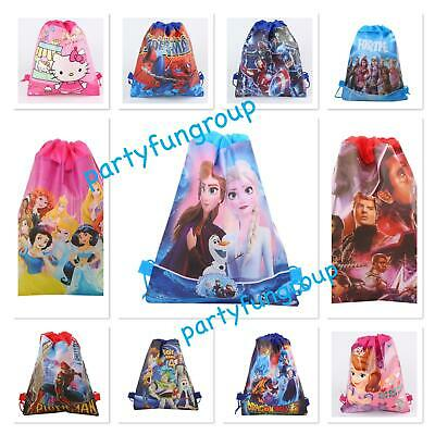 AU5.89 • Buy Kids Drawstring Backpack Library Bag Swimming Bag Party Gift Lollies