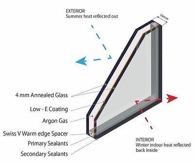 £9.99 • Buy Double Glazing Glass - High Spec - Low Cost - Made To Measure