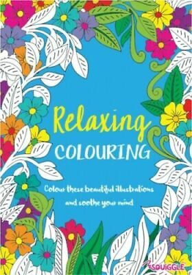 2 X Relaxing Stress Relieving Colouring Books For Adults - Joyful And Relaxing • 3.29£