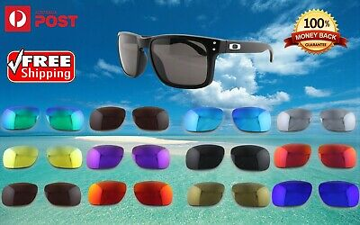 AU19.98 • Buy 2 Pairs Oakley Holbrook 9102 Polarized Premium Replacement Lenses UV Sunglasses