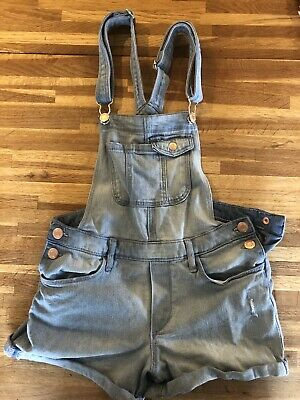 Denim Dungarees Age 11/12 (fits Age 10/11) • 9£
