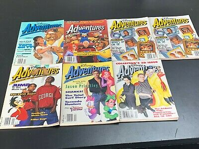 $29.99 • Buy Disney Adventures The Magazine For Kids 1992 & 1993 - LOT OF 7