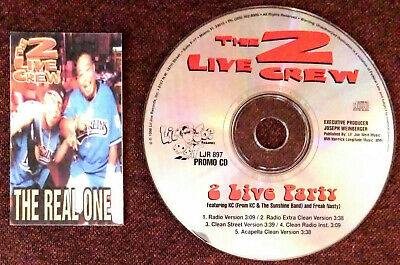 $ CDN20.10 • Buy 2 Live Crew - 2 Live Party - 1998 Promo 5 Track Cd & The Real One Business Card