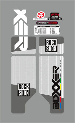 $18 • Buy Rock Shox Boxxer 2010 Fork / Suspension Decal Set  World Cup