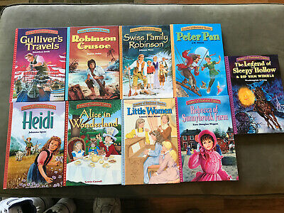 $25 • Buy Treasury Of Illustrated Classics: 9 Children's Books, Review Photos For Titles