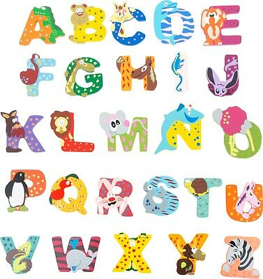 £1.65 • Buy Wooden Letters Personalised Name Animal Themed Gift