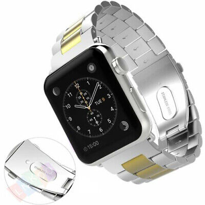 $ CDN11.59 • Buy Classical Stainless Steel Metal Wrist Band Strap For IWatch Series 5 4 3 2 1