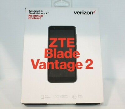 $44.99 • Buy NEW ZTE Blade Vantage 2 - 16GB - Black - (Verizon Prepaid) Smartphone - NIB