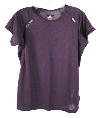 $14.99 • Buy SportHill Women's Active Short Sleeve Athletic Sport T-shirt Top Purple Size Med