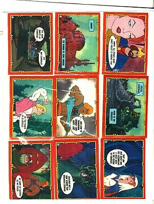 $4.99 • Buy 1984 Topps Masaters Of The Universe 1/2 A Set 43 Cards Excellent To Near Mint