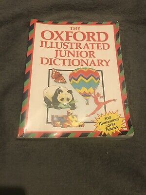 , The Oxford Illustrated Junior Dictionary, Paperback • 6.24£