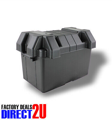 AU32.95 • Buy Universal Battery Box Suit N70ZZ Size Great For Boats Campers Caravan #BB438