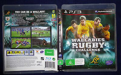 AU3.99 • Buy Wallabies Rugby Challenge Sony Playstation 3 Ps3 Game Pal