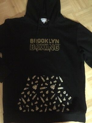 $28.99 • Buy Brooklyn Boxing Hoodie Sweatshirt Black New Mens  XL