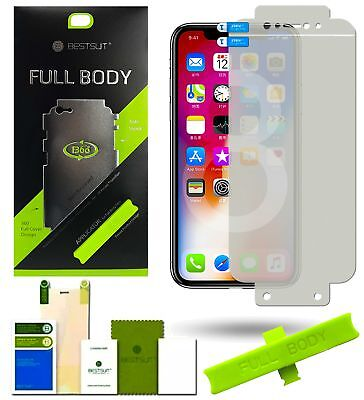 AU6.03 • Buy Bestsuit Protective Film For IPHONE X 10 Glass Film Bubble Free Applicator Tool