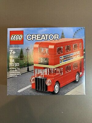 $ CDN17.86 • Buy LEGO 40220 Creator Mini London Bus 118pcs New Expert Double Decker