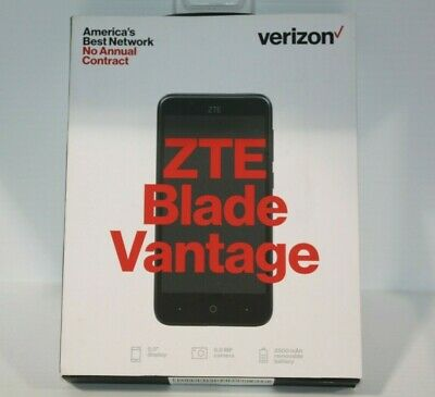 $34.99 • Buy NEW ZTE Blade Vantage Z839 - 16GB - Black - (Verizon Prepaid) Smartphone - NIB