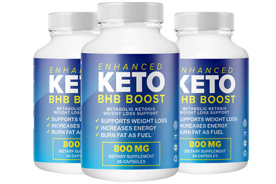 $27.77 • Buy Enhanced Keto BHB Boost With BHB Advanced Weight Loss Fit Formula 60 Cap