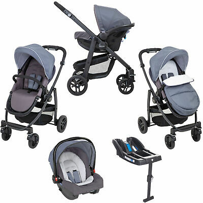 Graco Evo Travel System With Base - Mineral • 309.99£