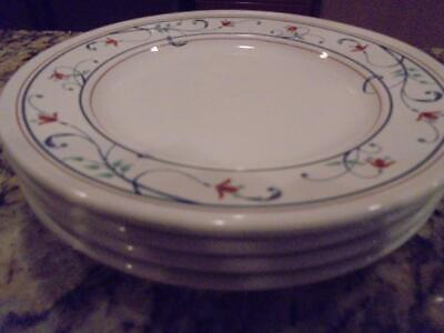 $14.99 • Buy 4 Mikasa Annette Bread & Butter Plates Excellent Condition ~ Low Fast Shipping!