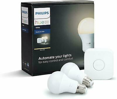 AU87.95 • Buy Philips Hue White A60 E27 Starter Kit - Brand New Sealed / Free Postage