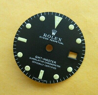 $ CDN4301.22 • Buy Vintage Rolex GMT-Master 1675 MK1 Dial 100% Original Authentic Zifferblatt