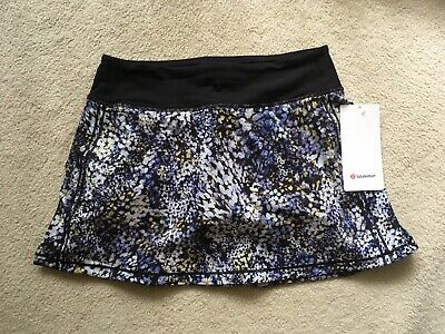 $ CDN179.99 • Buy Lululemon Pace Rival Skirt TALL No Panels Floral Metropolis 4T 6T 8T 10T