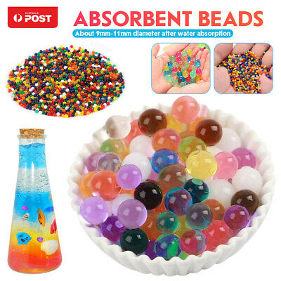 AU17.99 • Buy 100000pcs Crystal Water Balls Jelly Gel Beads For Vases Orbeez MultiColor AU