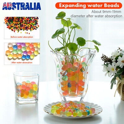 AU5.59 • Buy 100000 Orbeez Water Expanding Balls Jelly Magic Beads Small & Jumbo UK Seller UK