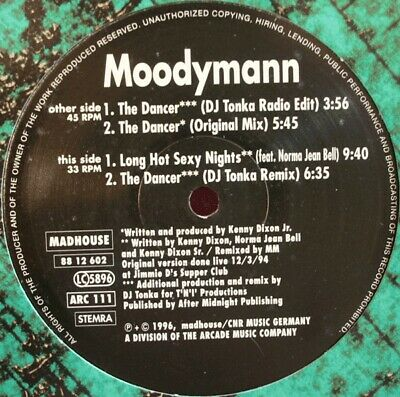 Moodymann - The Dancer • 34.99£