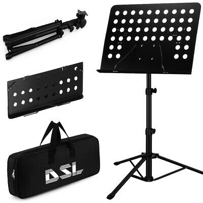 £17.99 • Buy DSL Heavy Duty Orchestral Music Stand Folding Adjustable Sheet Stand Tripod Base