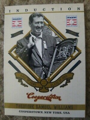$1.99 • Buy 2012 Panini Cooperstown Induction #6 Ted Williams Boston Red Sox