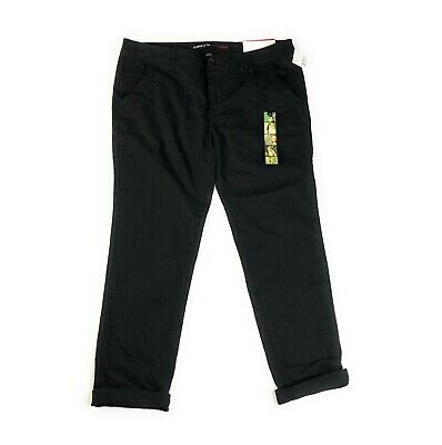 $17.60 • Buy Freestyle Revolution Black Skinny Stretch Chino Trouser Pants NWT Size 11