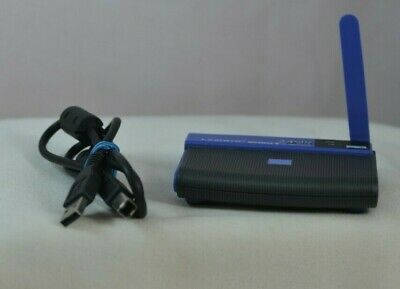 $8.95 • Buy LINKSYS WIRELESS-B 2.4 GHz 802.11B USB NETWORK ADAPTER WUSB11 VER. 3.0 TESTED