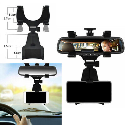 $8.21 • Buy 1PC Car Accessories Rearview Mirror Holder Mount Stand Cradle For Cell Phone GPS