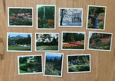 Kelloggs Gardens To Visit 1988 (11 Cards From A Set Of 20) • 0.50£