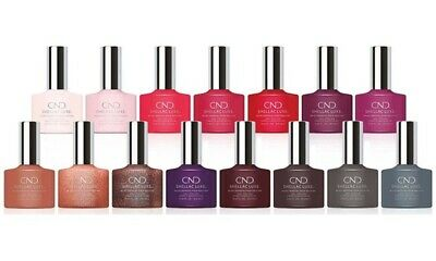£6.74 • Buy CND Shellac Luxe Nail Polish Varnish Gel Choose Your Shade New Boxed Multi Buy
