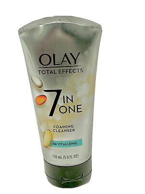 $8.99 • Buy Olay Total Effects 7-in-1 Revitalizing Foaming Cleanser, 5oz Each