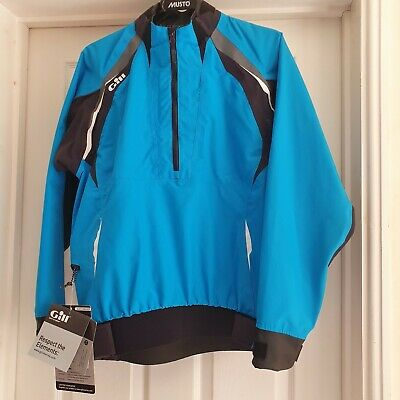 GILL Women's Sailing PRO TOP 4358W Turquoise/Graphite Size 14 BRAND NEW + Tags • 64£