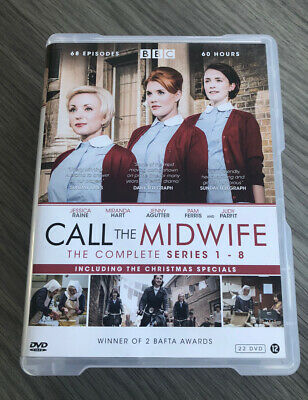 Call The Midwife Complete Series 1-8 + Xmas Specials (Import Copy Eng Audio) • 42.99£