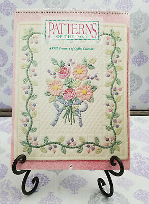 $3.99 • Buy A 1992 Treasury Of Quilts Calendar PATTERNS OF THE PAST Calendar W/ 12 Patterns
