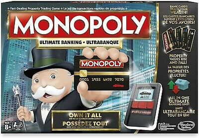 $27.62 • Buy Hasbro Monopoly Ultimate Banking Board Game BRAND NEW, SEALED